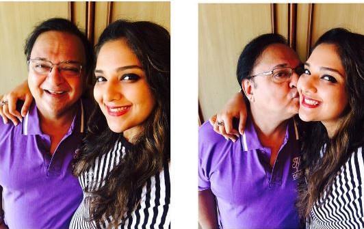 Ridhima Bedi with Her Father Rakesh Bedi