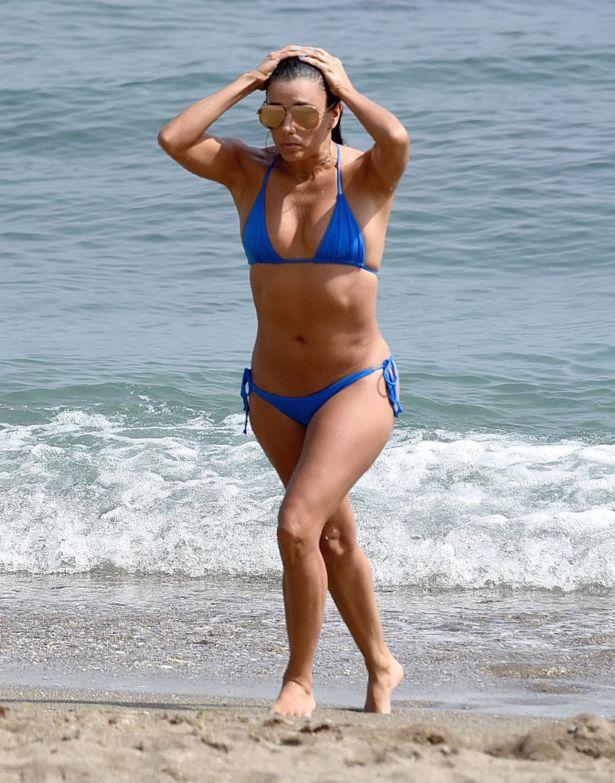 Eva Longoria At The Myrtle Beach, South Carolina